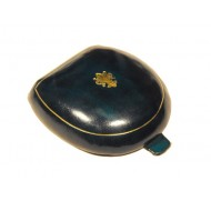 Florentine solid leather ancient style green coin purse