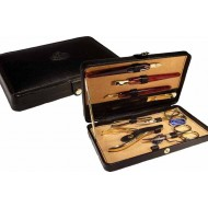 Leather manicure set. MADE IN ITALY